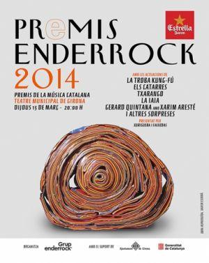 Els Catarres, grans triomfadors dels Premis Enderrock 2014 per votació popular