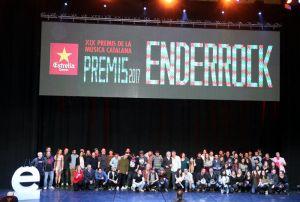 Manel, Love of Lesbian y Roba Estesa han sido los grandes triunfadores de los Premis Enderrock 2017