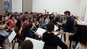 226 alumnes d'escoles de música de la demarcació de Girona, a la IX Orquestrada del Conservatori de Música Isaac Albéniz