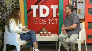 El programa de TVGirona TedeTot, entrevista el president de MUSICAT, Josep Reig