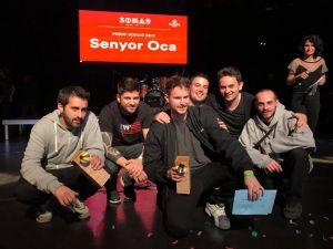 El grup de hip-hop Senyor Oca guanya el Sona 9. També han obtingut el Premi per Votació Popular.