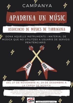 L'Associació de Músics de Tarragona engega una campanya solidària de donació d'instruments a serveis penitenciaris