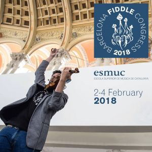 Oberta la inscripció a la tercera edició del Barcelona Fiddle Congress, que tindrà lloc del 2 al 4 de febrer