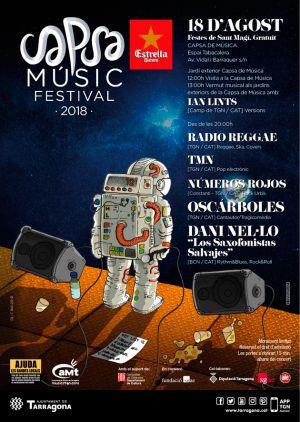 Arriba la 19a edició del Capsa Music Festival, el festival de l'Associació de Músics de Tarragona