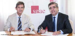 La SGAE i les grans empreses de distribució signen un acord que facilita l'ús del repertori dels autors membres de l'entitat de gestió
