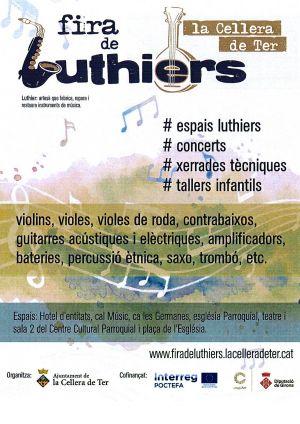 Primera edición de la Feria de Luthiers de La Cellera de Ter