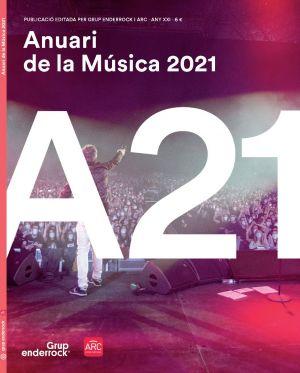 Avui s'ha presentat l'Anuari de la Música 2021, coeditat pel Grup Enderrock i ARC